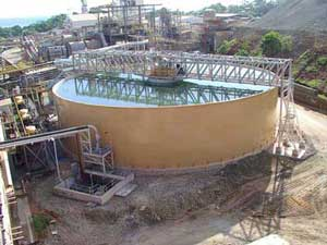 Lihir Gold Mine - Completed Thickener