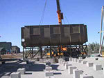 BHP Billiton Cannington  - Conventional Zinc Cleaner Cell installation