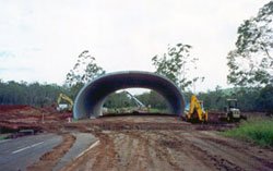 390 tonne vehicle haulroad - highway overpass construction